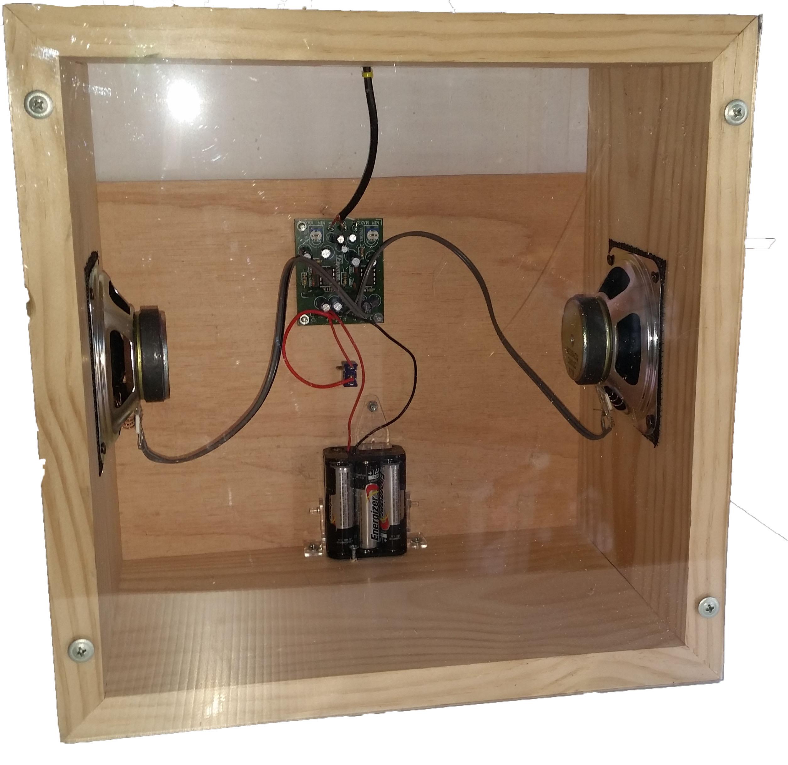 KSBB-01 Boom Box Project (2W Stereo Econo)