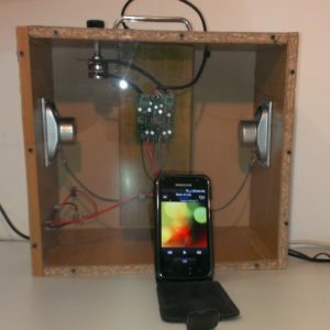 KSBB-03 Boom Box Project (2 Watt Stereo , Full features with external Plug Pack)