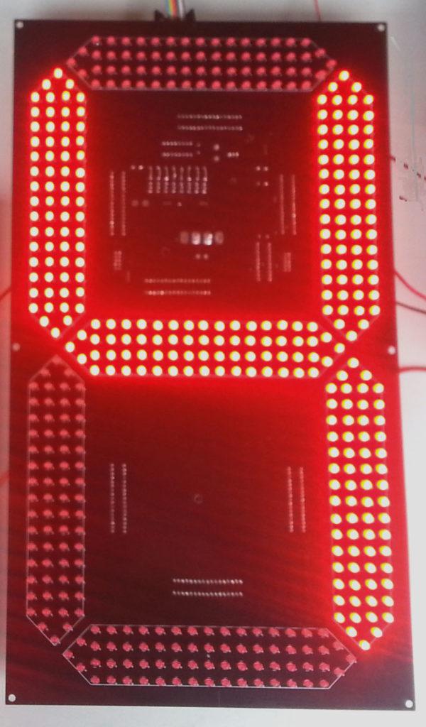 "D8 HB 400 16"" 7 Segment Display"