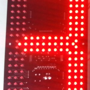 "D8 HB 300 12"" 7 Segment Display"