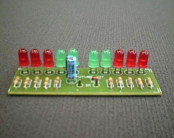 FK102 10 LED Stereo VU Meter