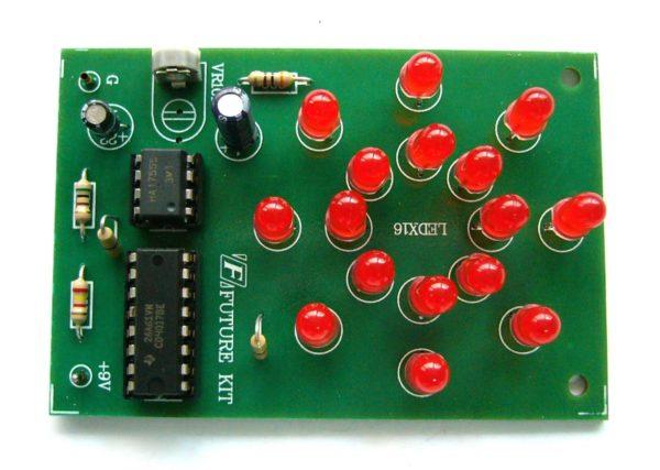 FK118 16 LED Rotating (Chasing) Light