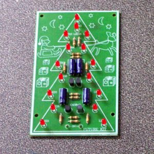 FK140 16 LED Flashing Christmas Tree