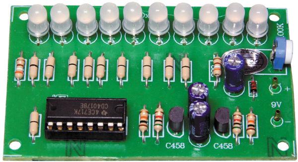 FK157 10 Bi-Colur LED Chaser Light