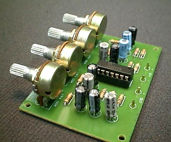 FK652 3 Channel Microphone Pre-amp Mixer