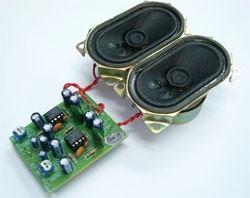 FK675 2W+2W Stereo Amplifier