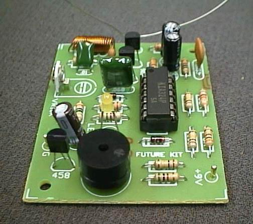 FK507 Door Knob Touch Alarm