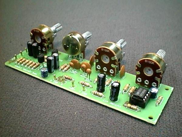 FK626 Stereo Input Pre -Amp/Tone Control
