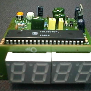FK925 Digital AC Voltmeter 0-500V