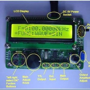 KSG1002 Function Generator Frequency Counter