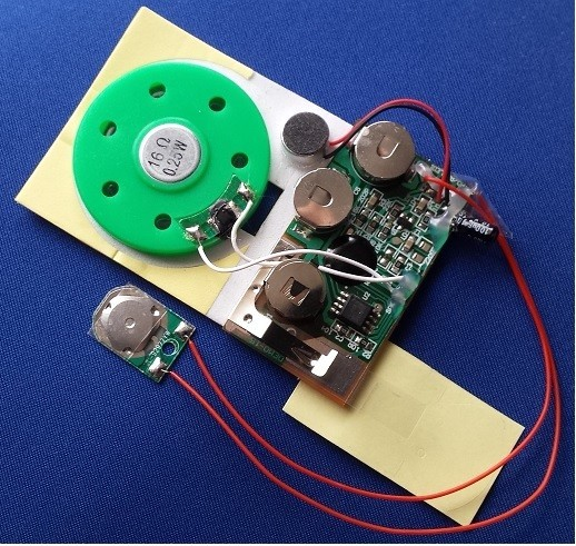 KSSM-60S Voice Recorder for Greeting Cards (60 Seconds)