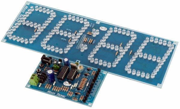 "MXA025 4 Digit 3"" Clock Display"