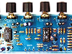 MXA044 3 Channel Karaoke Microphone Mixer