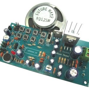 MXA113 8 MESSAGE RECORDER 680 secs with 8 Watt