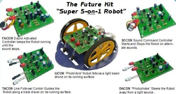 5-on-1 Robot Kits Education Offer